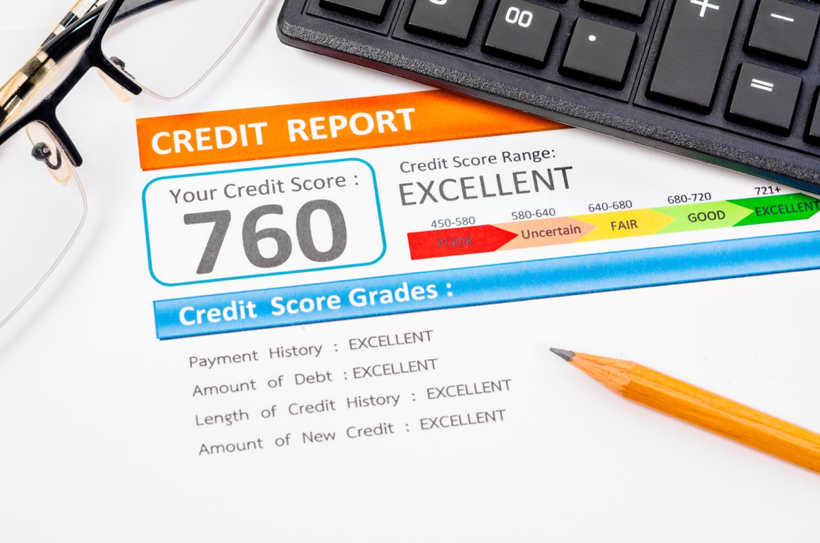 5 things that make up your credit score